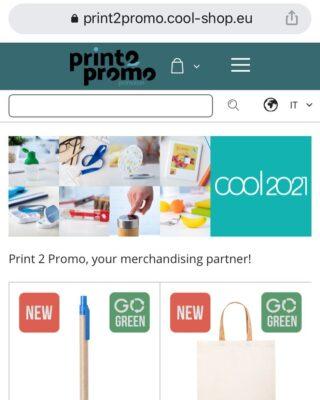 Il nostro nuovo gadget shop è disponibile al link print2promo.cool-shop.eu/it  Scoprite le ultime novità 🙂   #gadget #promotional #items #custom #gift #merchandising