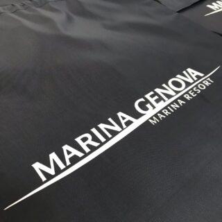 Promotional bags @mga_marinagenova ⚓️ • • • #pod #genoa #ship #sea #marinagenova #marinagenovaaeroporto #promotionalproducts
