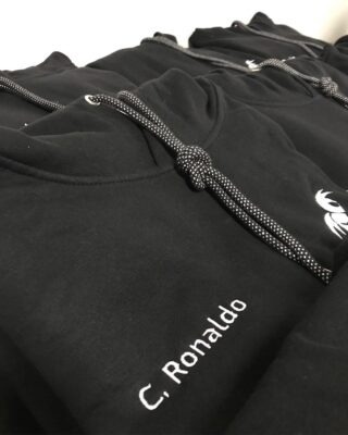 Embroidered hoodies @beebaditalia @juventus  Enjoy our creations ⚽️ • • • #promotionalproducts #hoodies #juventus #merchandise #merchandising #club #football #team #picoftheday #agency #promotional #wearepromotion #embroidery #service #clothing #italy #cr7 #cristianoronaldo #allegri #szczesny #seriea
